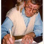Tom Baker, famous cat lovers