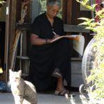 Alice Walker (and cat)