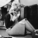 Dusty Springfield and cat