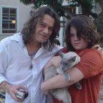 Eddie van halen and cat