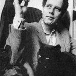 P.F. Thomése with cat