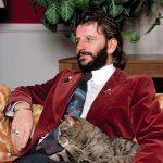 Ringo Starr and cat