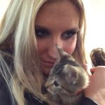 kesha and cat