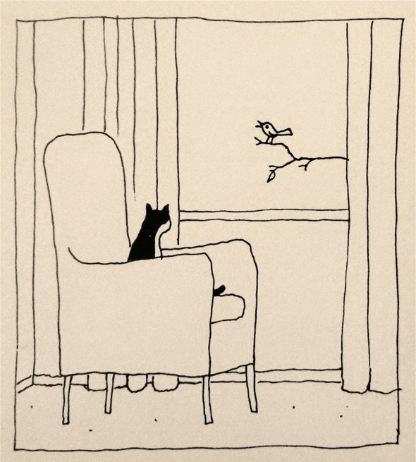 12-Franco Matticchio-Cat Cartoons