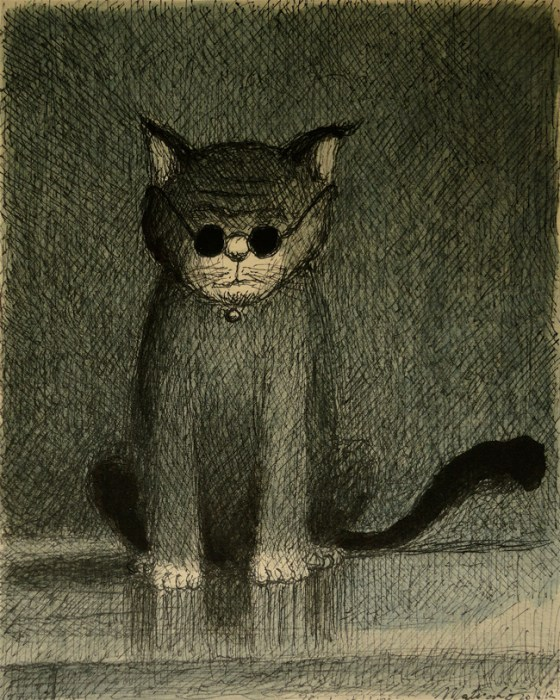2-Franco Matticchio-Cat Cartoon