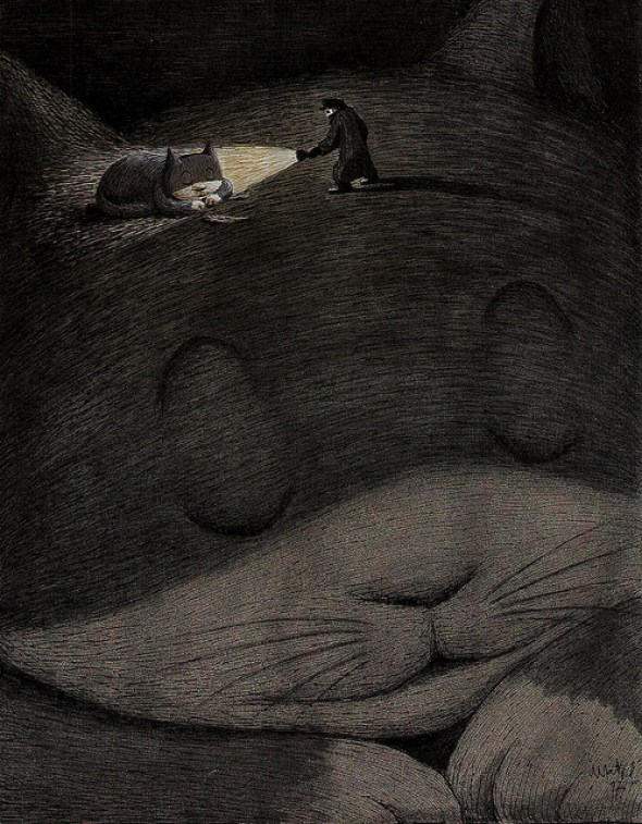 27-Franco Matticchio, The Dream of he Cat