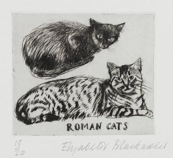Roman Cats, Elizabeth Blackadder