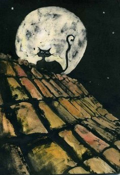 6-Franco Matticchio-Cat Illustrations