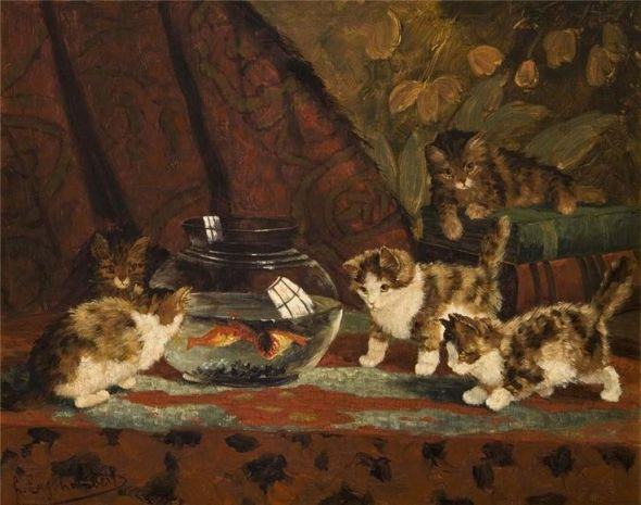 Kittens and the Fishbowl, Carl Emil Mücke