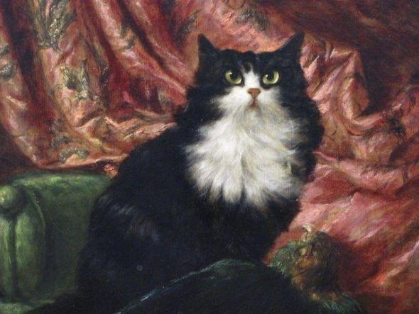 Carl Kahler, Sultan, cat art