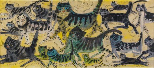 Cats, Edward Bawden