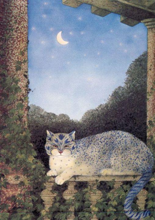 Feridun Oral, Blue Design Cat