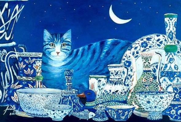 Feridun Oral, Cat and China