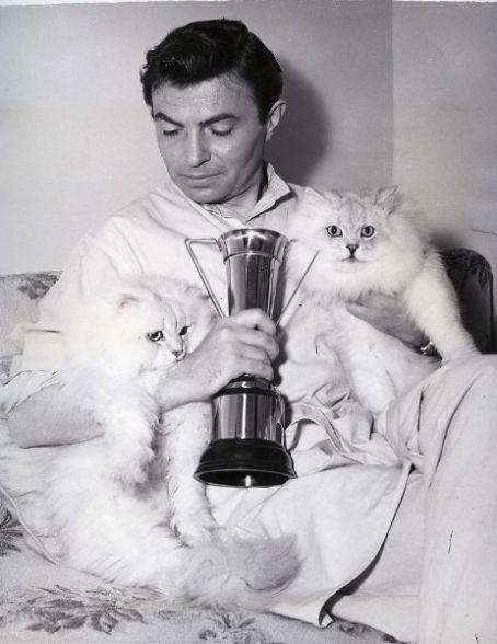 James Mason and Persian Cats
