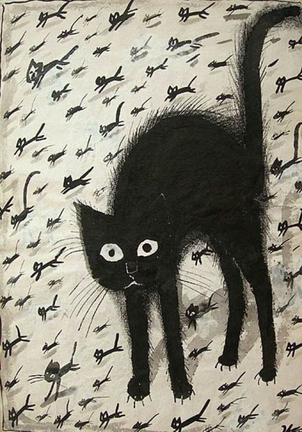 Black Cat, Jozef Wilkon