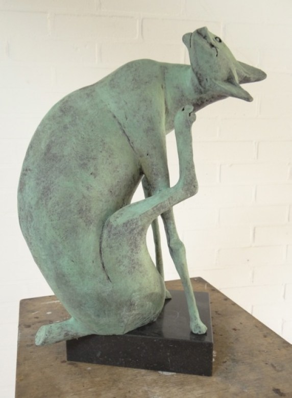 Cat Scratching, Peter Harskamp