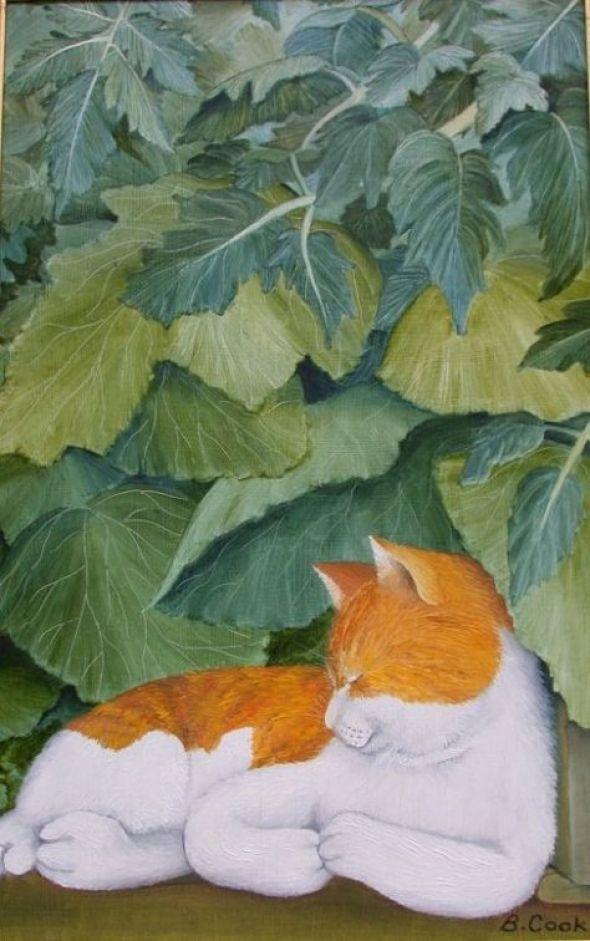 Beryl Cook, Cedric the Cat