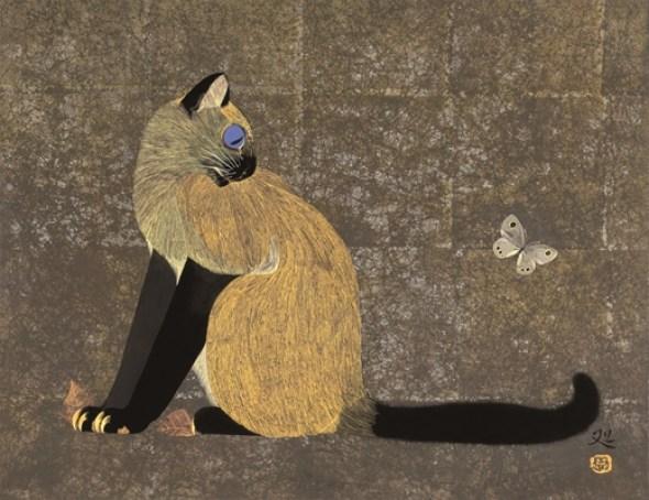 Siamese and Butterfly, Matazo Kayama