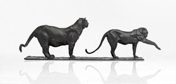 Two Panthers, 1905, Rembrandt Bugatti (3)