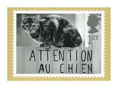 Richard Kalvar, Beware of the Dog, on UK Postage Stamp