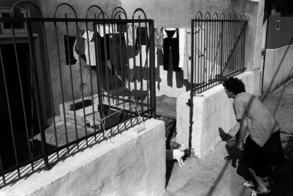 Richard Kalvar, Cat and Woman, 1992