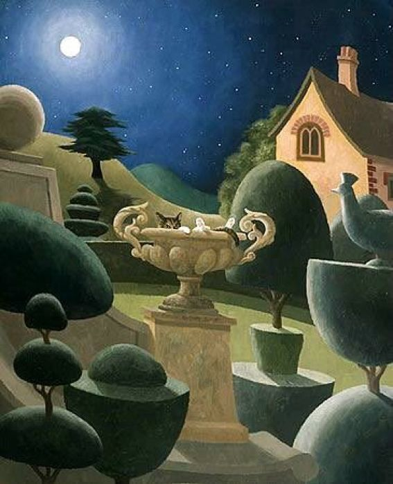 Ophelia Redpath, Cat in a Planter