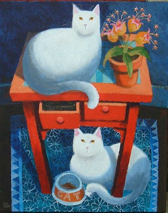 Ophelia Redpath, White Cats