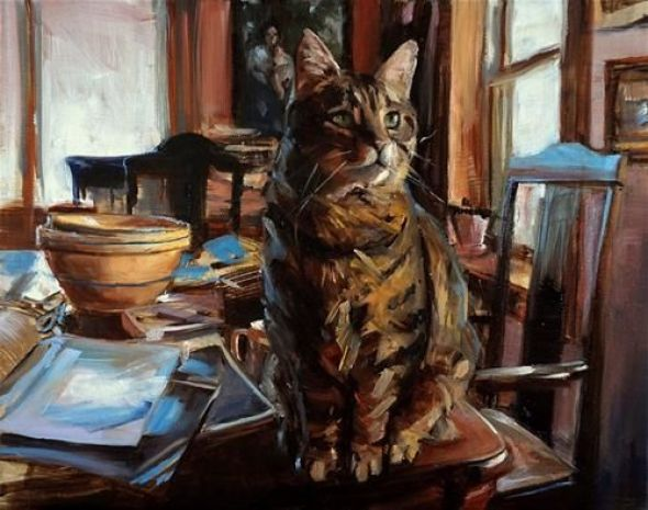 Jonelle Summerfield, Tabby on the Table