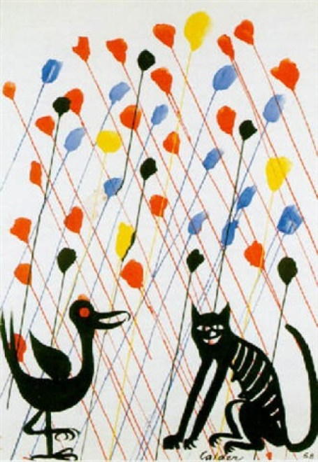 Alexander Calder, Bird and Cat