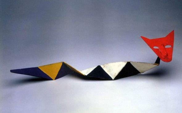 The Rattle Cat, Alexander Calder, 1969