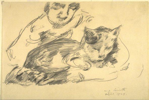 Lovis Corinth, Cat