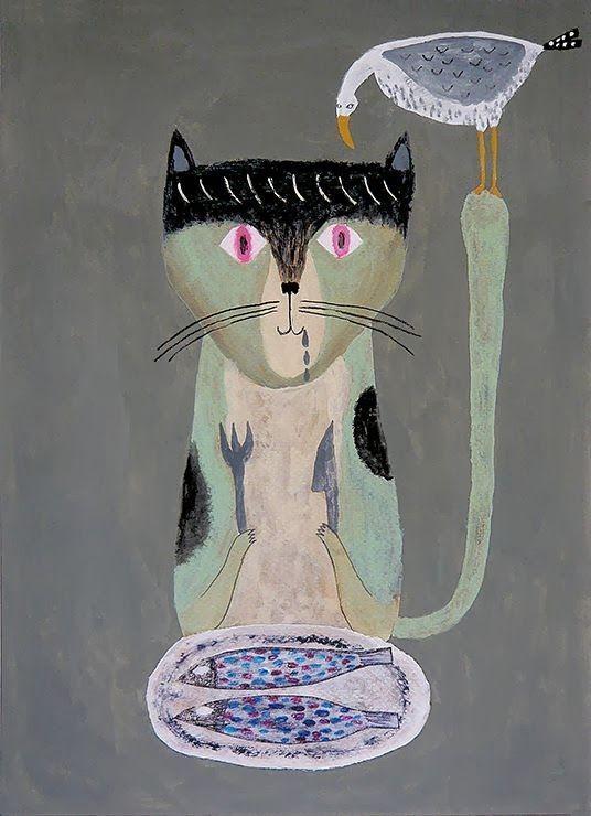 Tetsuhiro Wakabyashi, Cat