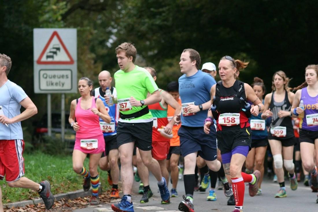 The Eden Project Marathon Runners