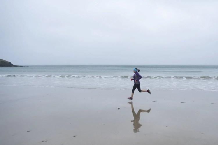 Running Mental Health Beach