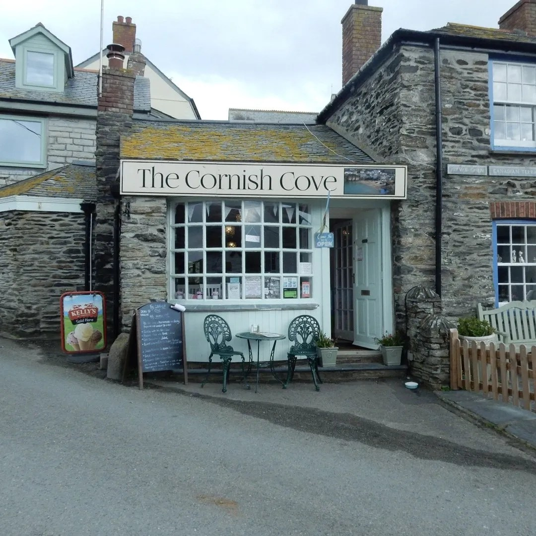 The Cornish Cove shop front