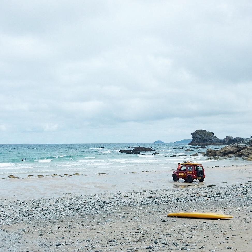 Trevaunance Cove St Agnes RNLI