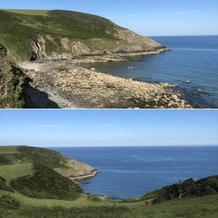 Views of Kiberick Cove