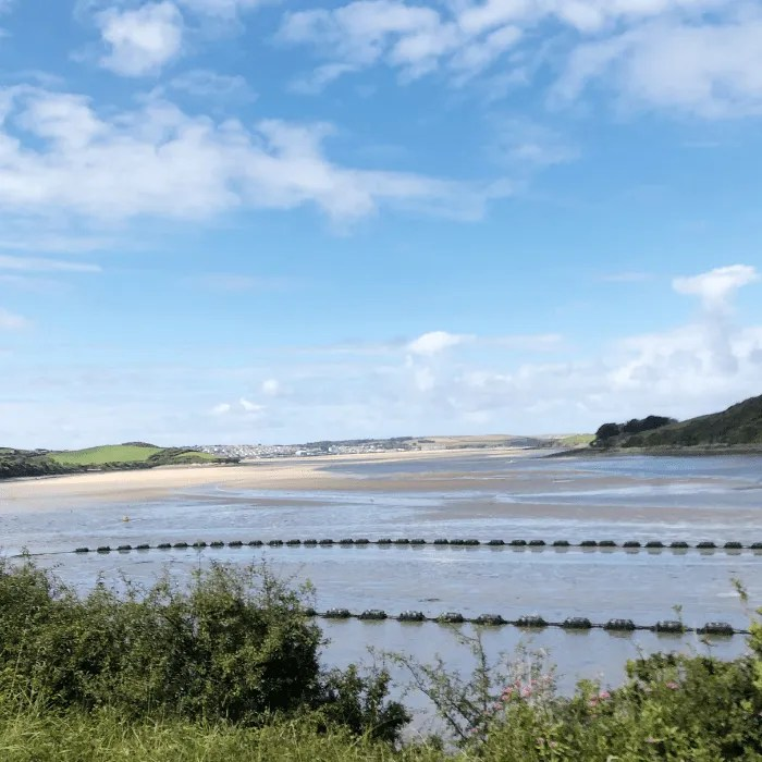 The Camel Estuary in Cornwall