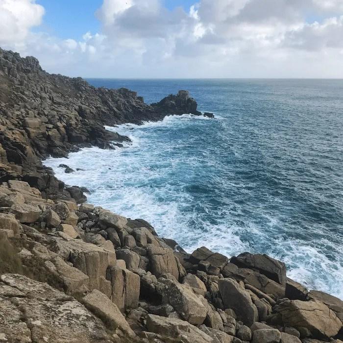 Rocks and cliffs coastline