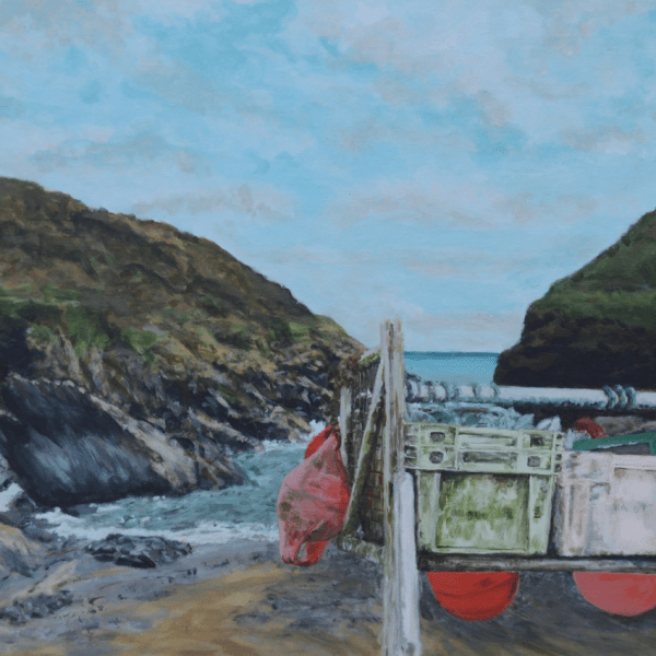 Product image of giclee print Jasmine and the Buoys