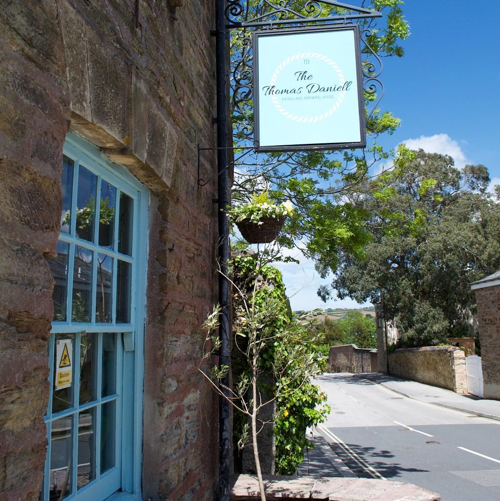 The exterior of the Thomas Daniell Pub, Truro