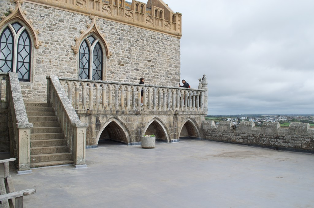 the rooftop at St Michael's Mount
