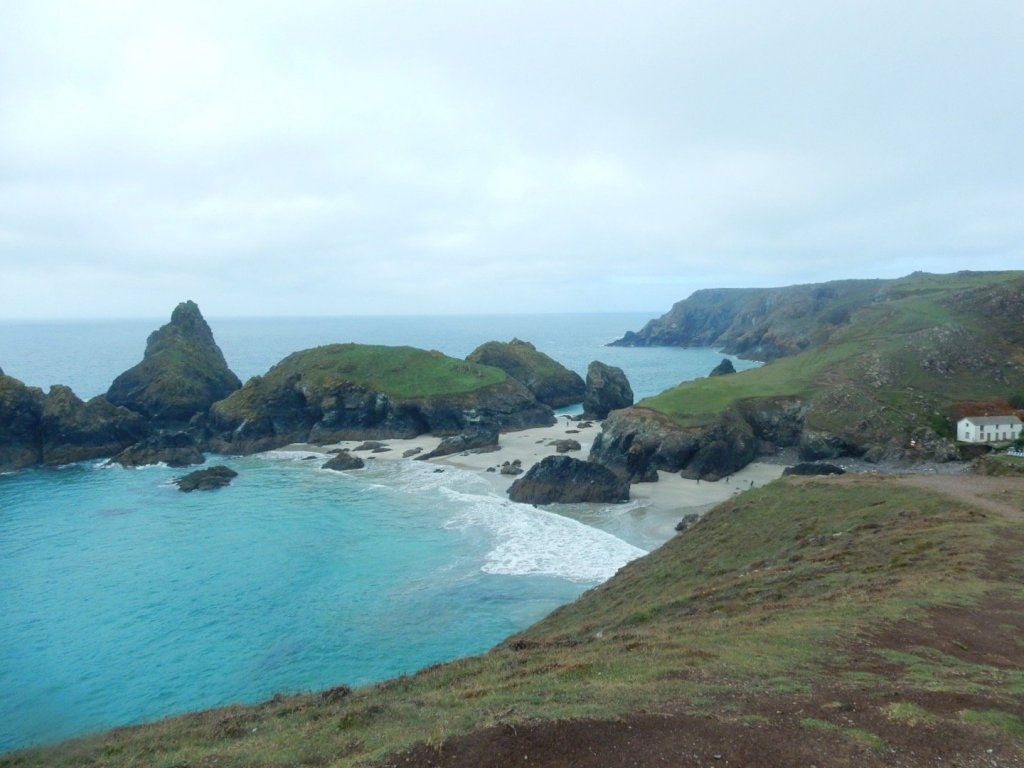 Microadventures at Kynance Cove in the fog