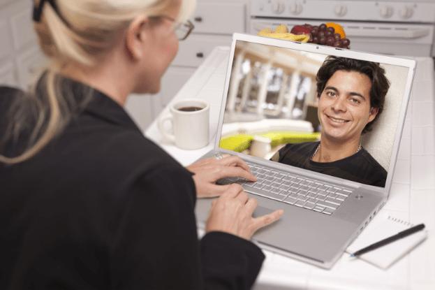 Online dating 50 og over