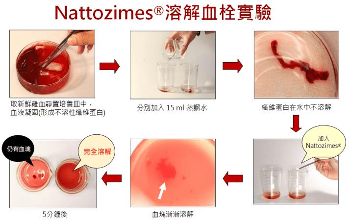 納豆酵素溶解血塊抗血栓