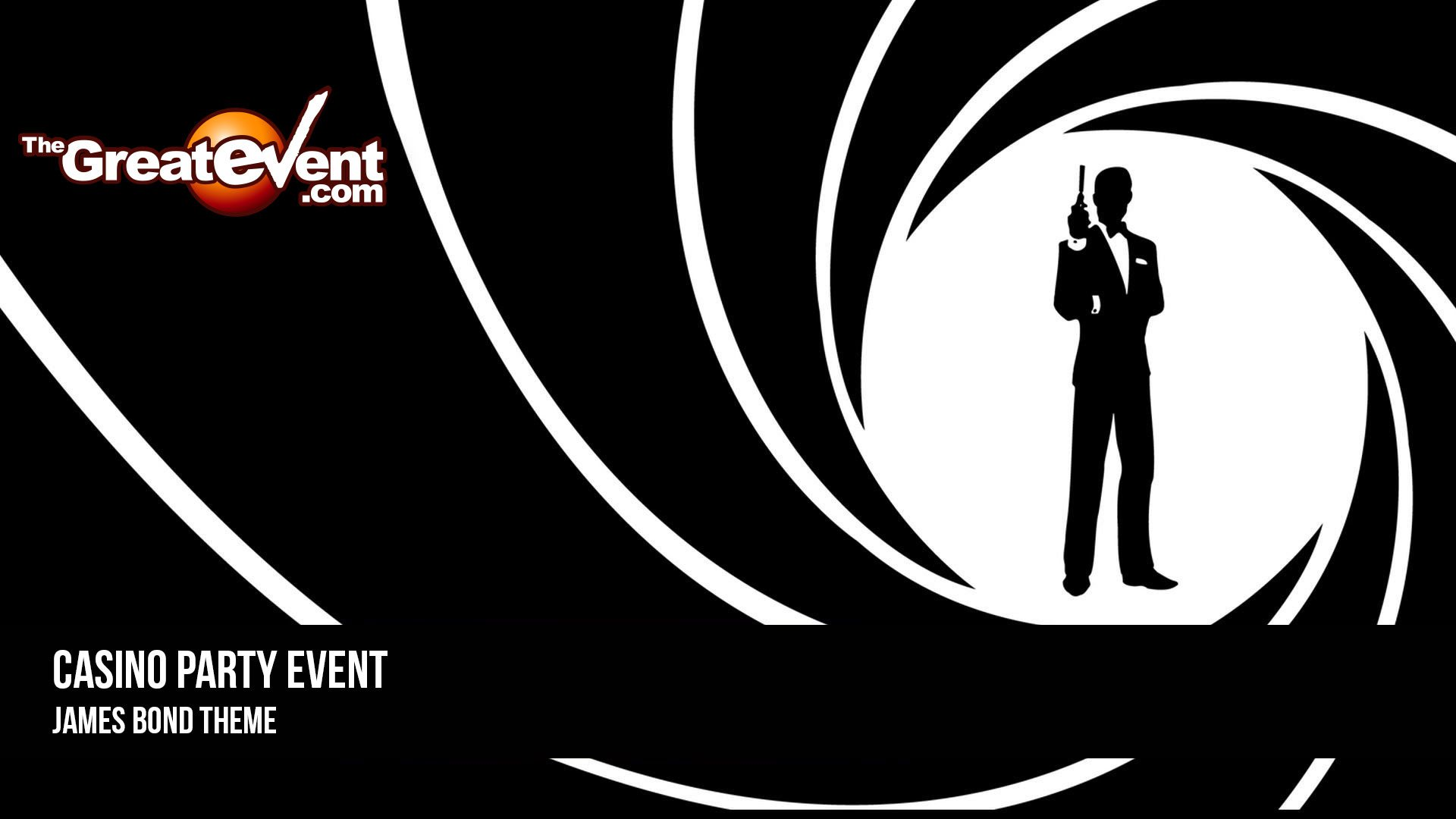 James Bond Einladung Casino Party James Bond Theme The Great Event