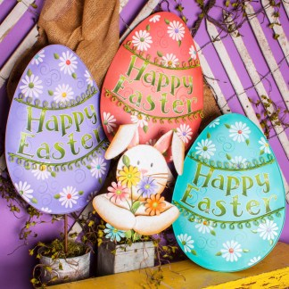 Large Easter Decor Group
