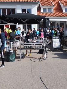 Hovedmanden bag Løkken Marathon; Flemming byder velkommen