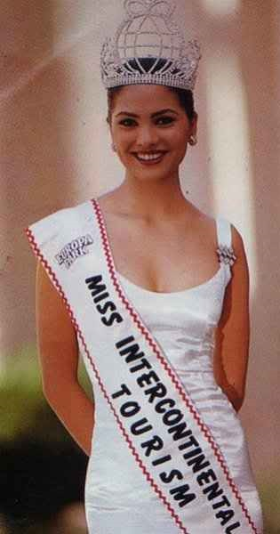 Lara Dutta Miss Intercontinental 1997