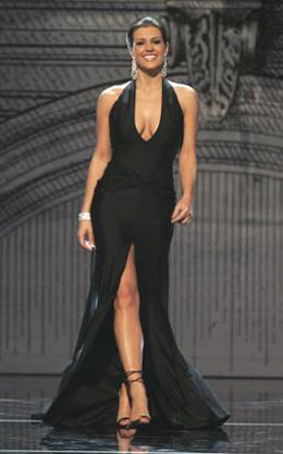 Her gown at Miss USA was amazing